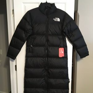 The North Face Womens Nuptse Duster Black